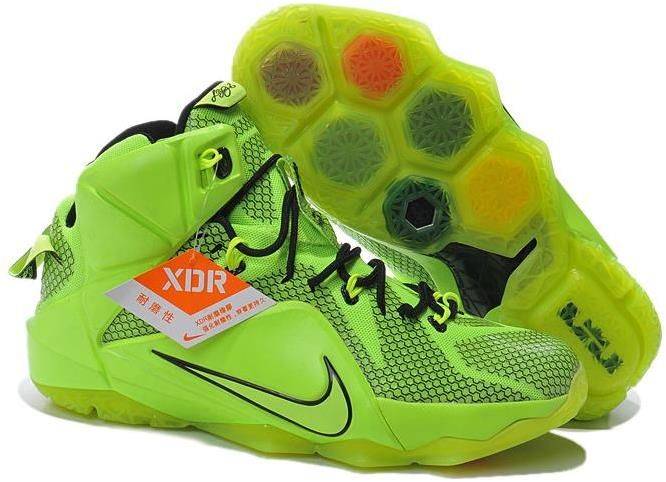 LeBron 12 Fluorescent Green Black Shoes, cheap Lebron 12 Mens, If you want  to look LeBron 12 Fluorescent Green Black Shoes, you can view the Lebron 12  Mens ...