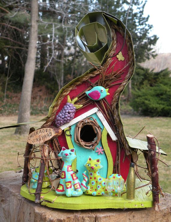 78 Best Images About Birdhouse Ideas On Pinterest