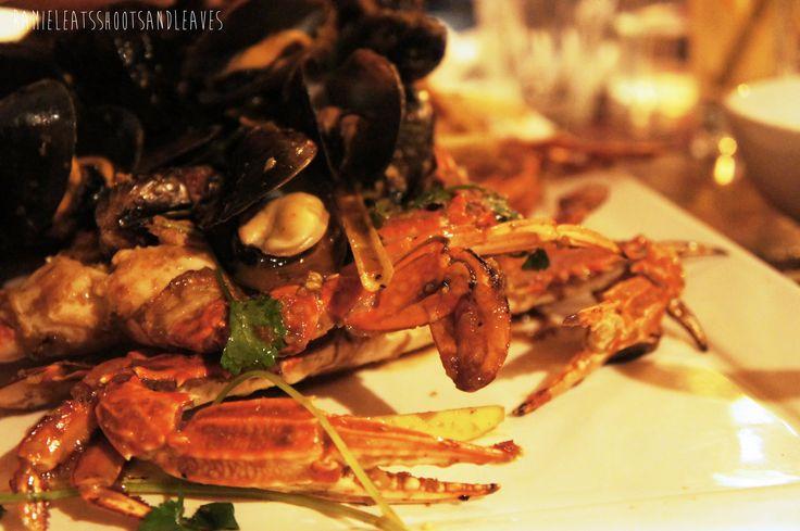 Claypots Seafood & Wine, Seafood Restaurant in St Kilda.