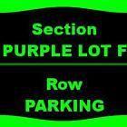 Ticket  1 Ticket PARKING: Washington Redskins Browns 10/2 FedexField Parking Lots Lando #deals_us