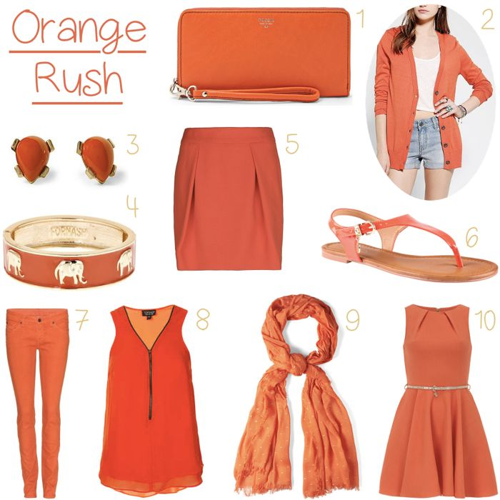 Summer Jumpers Outfits Orange   Set your wardrobe ablaze this summer with one of these bold orange ...