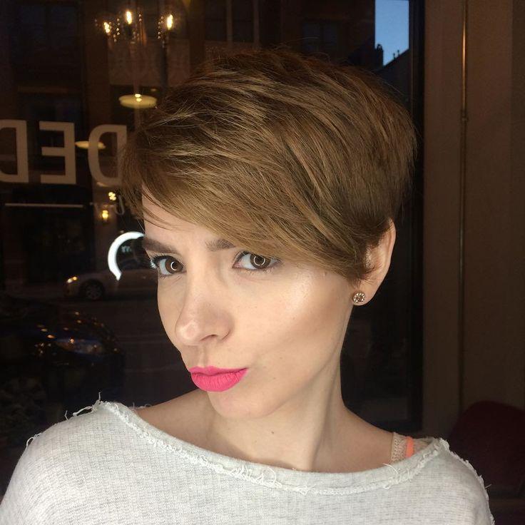 Стрижка пикси (50 фото) - на короткие и средние волосы ...