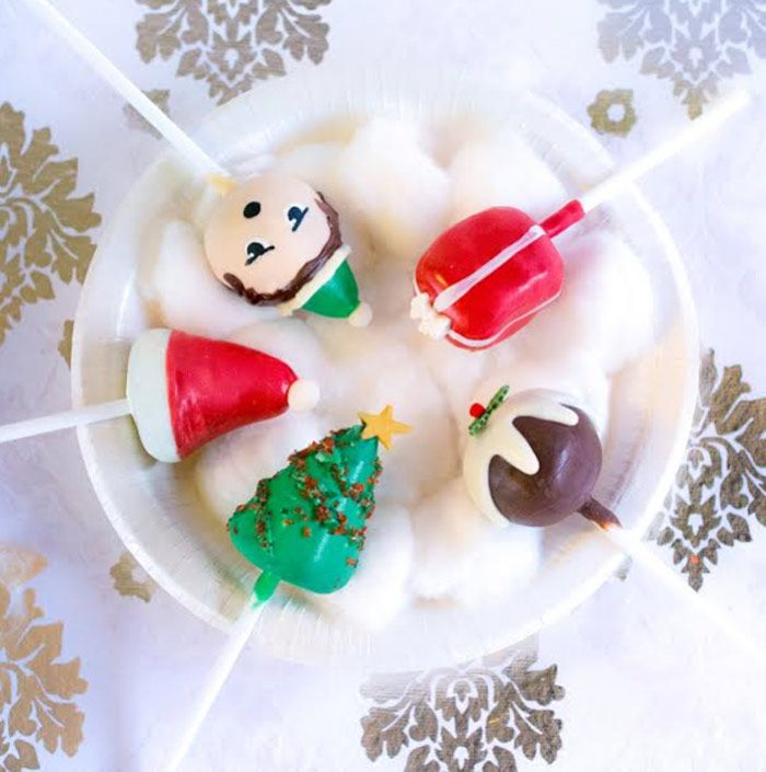 25+ best ideas about Christmas cake pops on Pinterest ...
