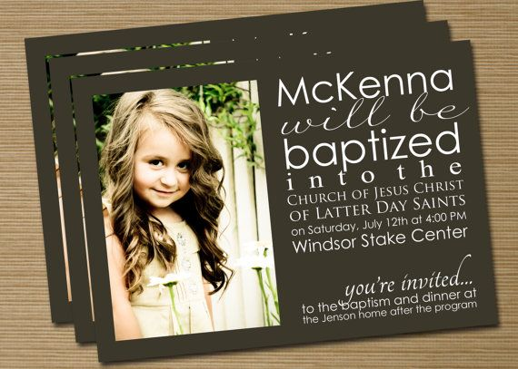 baptism invitation.. never seen this before but its really cute!