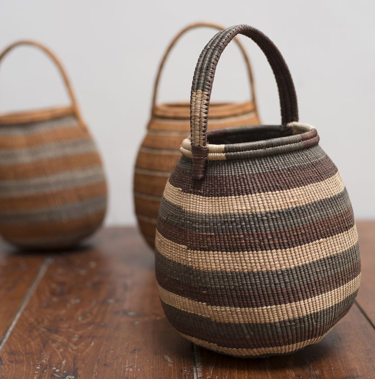 Africa | Baskets from the Khwe people of Namibia