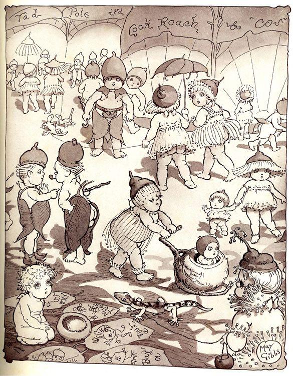 Illustration from Australian Author May Gibbs