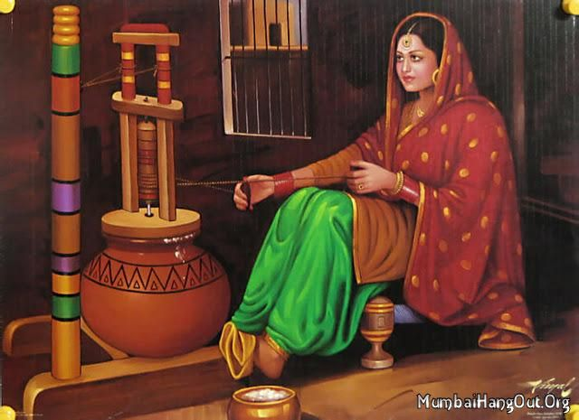 Punjabi Muteyar Painting