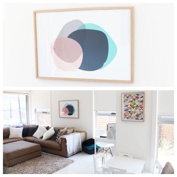 Beautiful modern interior featuring Australian online Yorkelee home art prints: yorkelee.com.au