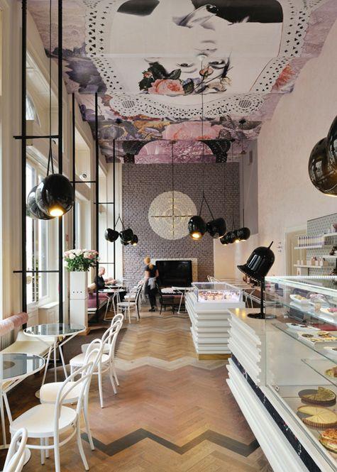 10 decorating ideas to steal from the worlds most stylish restaurants lolita cafe ljubljana slovenia photo from trije arhitekti