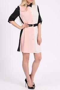Colour Block Shirt Dress. Size 14. BNWT. Longline Shirt | eBay