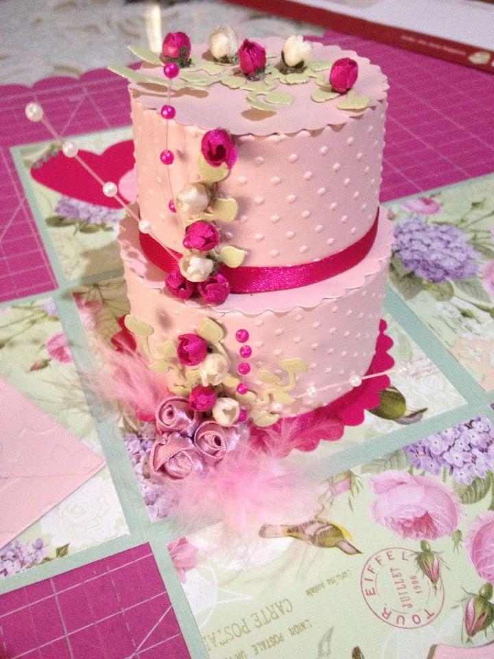 Cake Explosion box