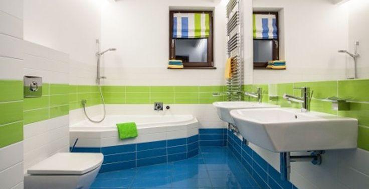 Budgi badkamer verf handig projecten om te proberen pinterest sanitair rots en budget - Groene metro tegels ...