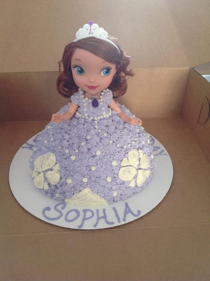 Sofia The First Doll Cake Made By Sugar Grubbin Sugar