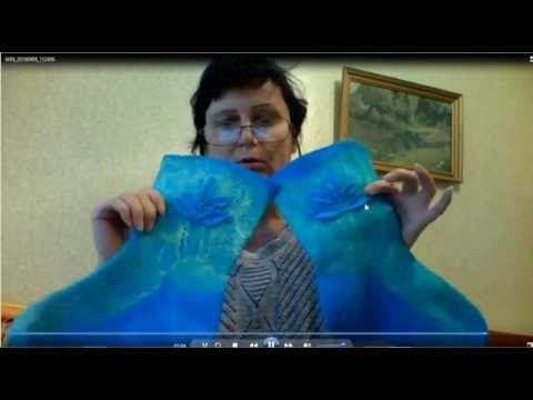 валяние носков из шерсти -6 часть - YouTube