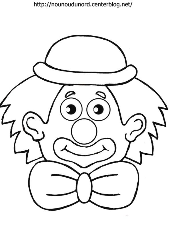 Coloriage Clown Hiver.Liste De Mes Coloriages Clowns Carnaval Mardi Gras Activites