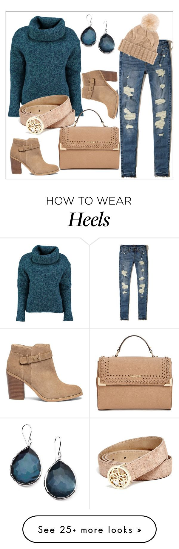 """""""Untitled #339"""" by chanlee-luv on Polyvore featuring Lowie, Hollister Co., Ippolita, Sole Society, Calvin Klein, Loro Piana and GUESS"""