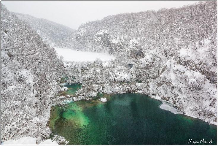 Mesevilággá dermedt Horvátországban a Plitvicei-tavak vidéke | Zacc
