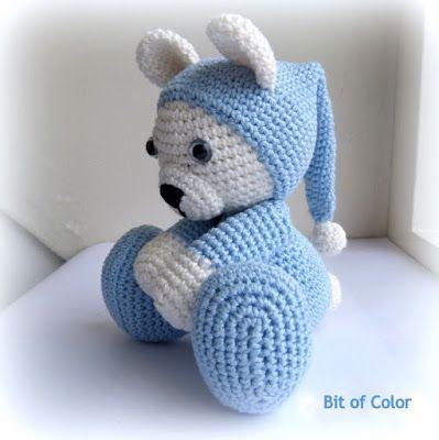 58 besten Bären Bilder auf Pinterest | Häkeln, kostenlose Muster und ...