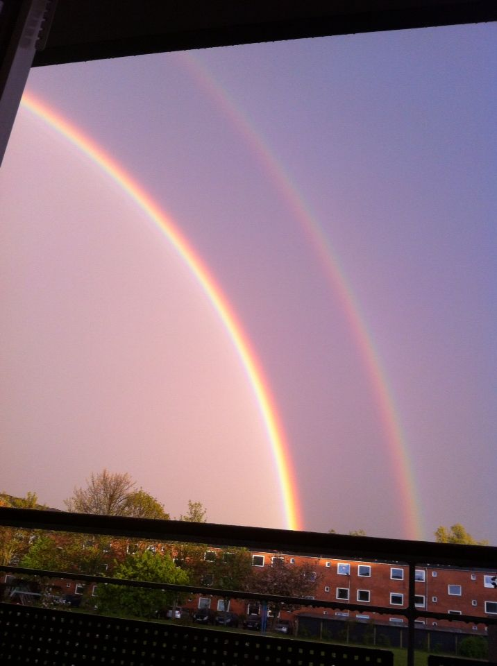 Smuk regnbue