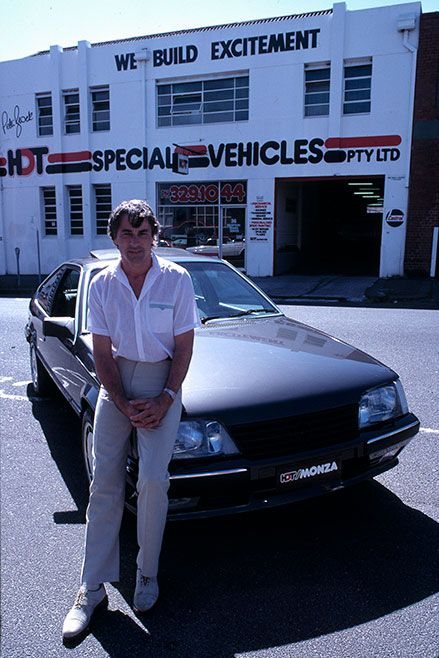 HDT Monza with Peter Brock 1986