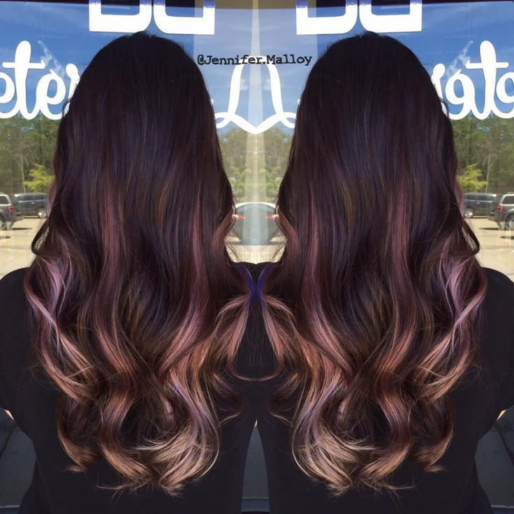 Image Result For Dusty Lilac Brunette Ombre Beautify Me