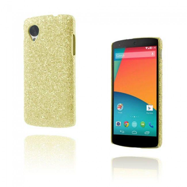 Glitter (Kulta) Google Nexus 5 Suojakuori - http://lux-case.fi/google-nexus-5-suojakuoret.html