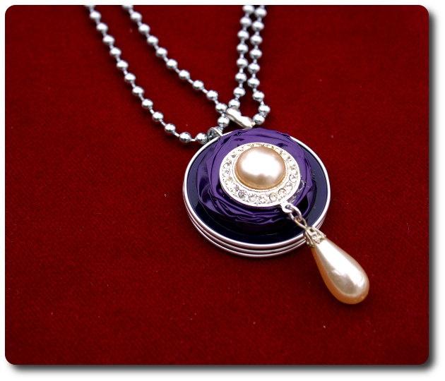 Necklace Pendant Recycle Jewelry idea