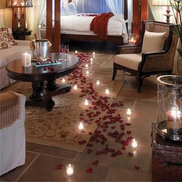 1000 images about valentines day ideas on pinterest - Romantic decorations for hotel rooms ...