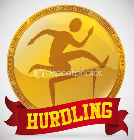 Gold Medal for Hurdling Championship