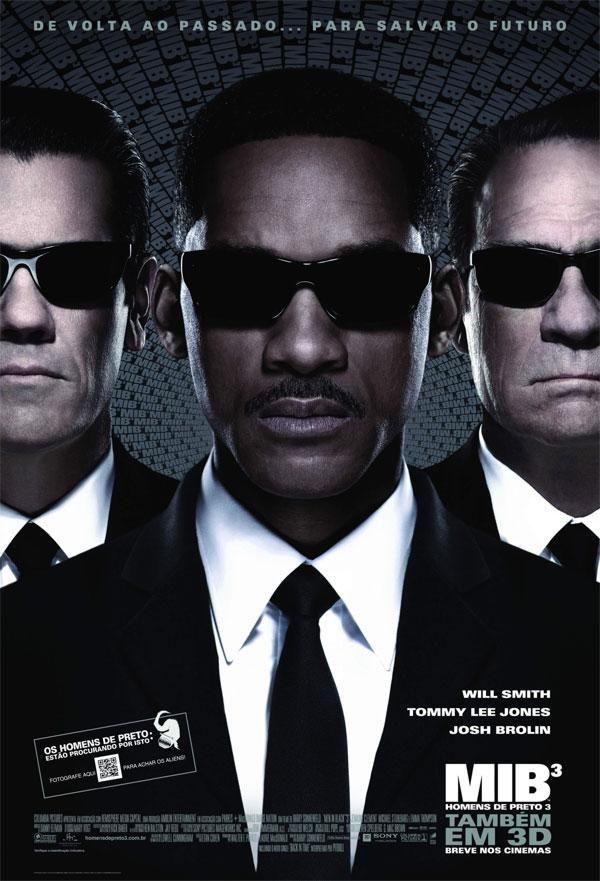O filme MIB – Homens de Preto 3 estreia nesta sexta (25)