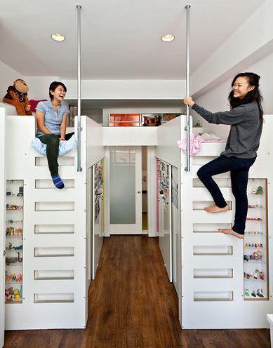 Best 125 Best Cool Loft Beds Images On Pinterest Child Room 400 x 300