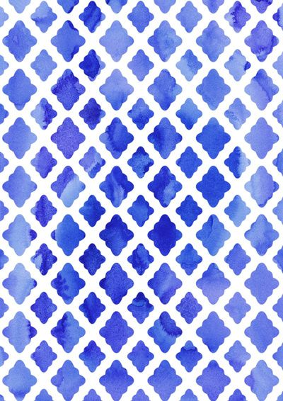 patternWatercolors Blue, Pattern Watercolors, Watercolors Pattern, Watercolors Diamonds, Watercolors Shades