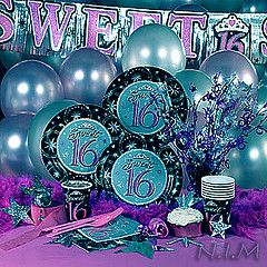 pictures of turquoise items | 28 Jun 2005 Is there any party more delightful than sweet 16 ? items ...
