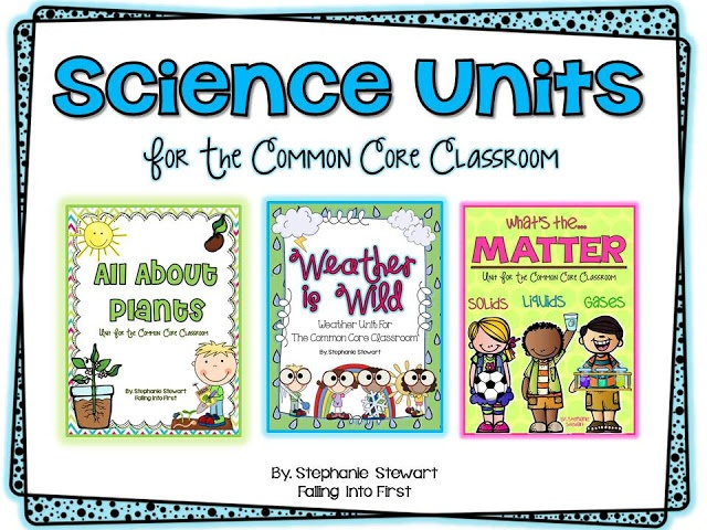 The lessons and activities in these units are fun and make it easy to integrate the Common Core into your Science block!