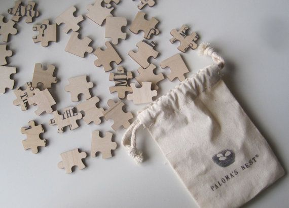Fun idea to announce a pregnancy to my mom who loves puzzles.