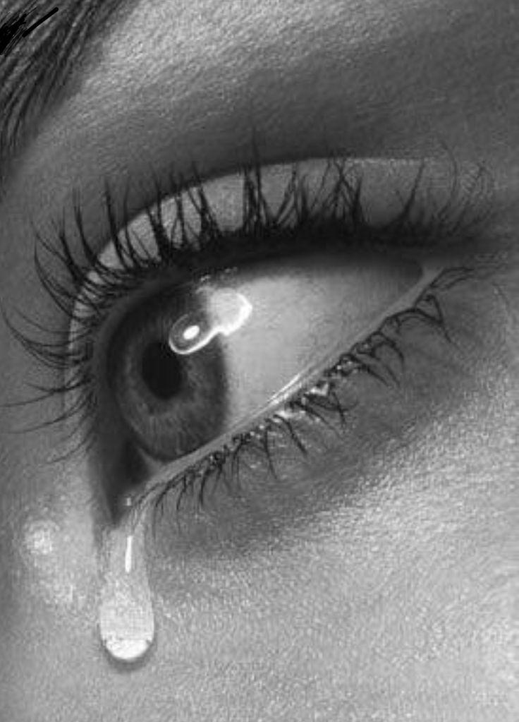 Картинки со слезами девушек на глазах