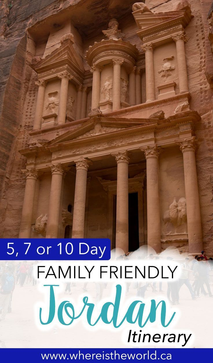 The Ultimate Family Friendly 7 Day Jordan Itinerary | Best