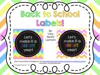 These labels are great for back to school! Simply print and add to pencils, hi-lighters or candy! I hope you enjoy!