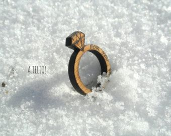 THE ring A.telio!  #atelio #atelioshop #etsy #egst #wooden #jewelry #ring #woodenring #pyrography #custom