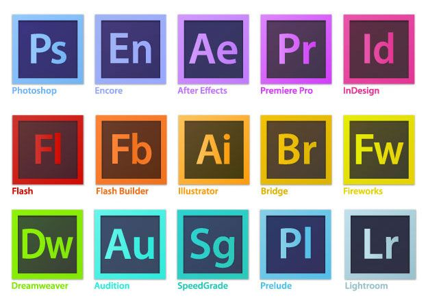 At this point, any version of photoshop, illustrator, dreamweaver, flash, after effects, etc would be acceptable.