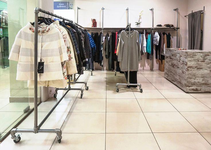 """Магазин женской одежды """"Casella"""" / МДМ - Галерея #дизайн #интерьер #лофт #мебель #продажи #стиль #одежда"""