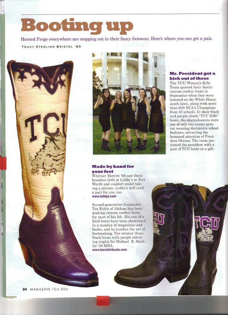 TCU boots!