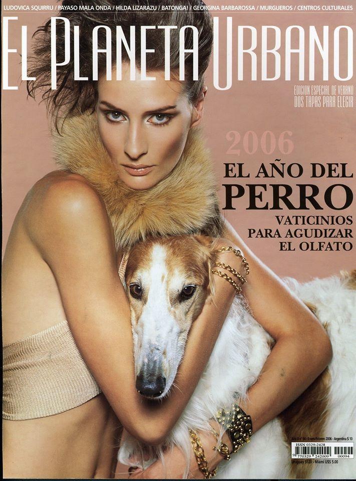 4703225c37183 Luciana Marinissen EL PLANETA URBANO Magazine January 2006 Magazine Cover