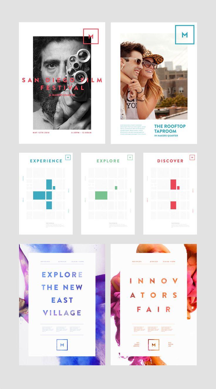 Makers Quarter Community Branding | BASIC™ | A Branding & Digital Design Agency