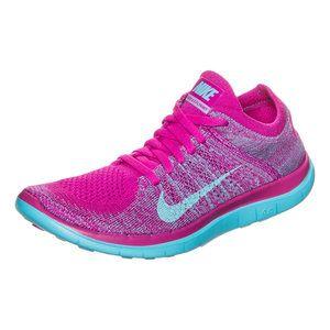 Der #Nike Free 4.0 Damen Laufschuh ist flexibler als der 5.0 und besitzt mehr Dämpfung als der 3.0. Mit #Flyknit!