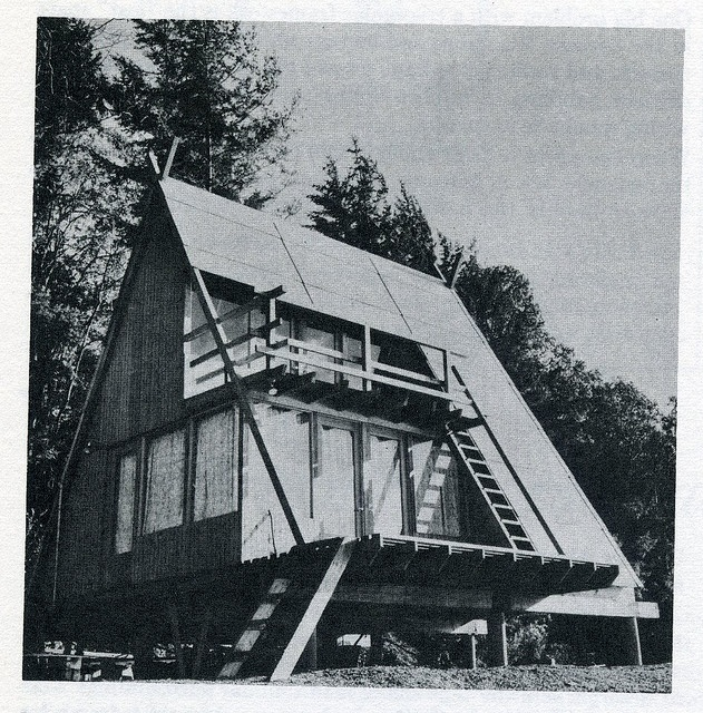 A Frame cabin - By Grain Edit.com - Via Flickr