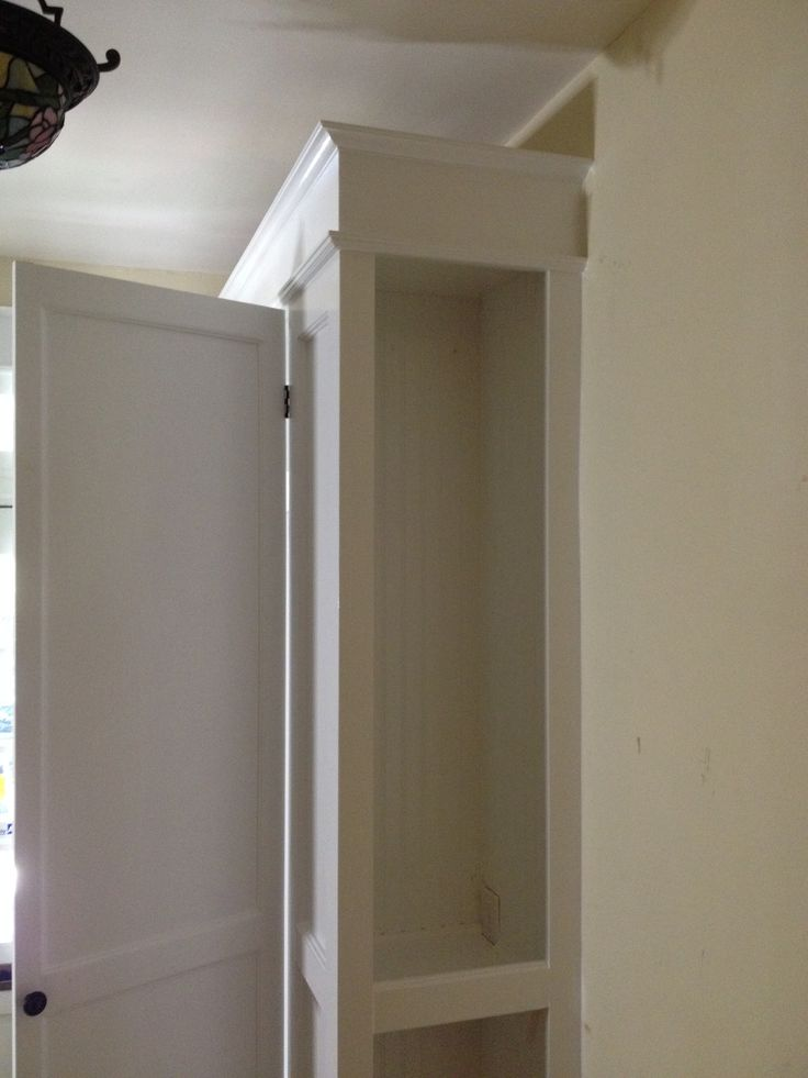 Foyer Cabinet With Doors : Foyer cabinet mount pleasant trim details custom made