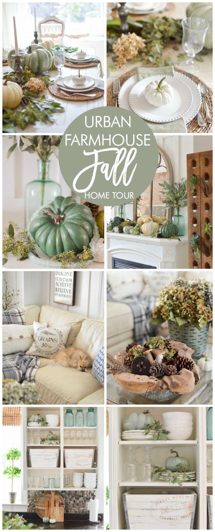 DIY Home Decor Fall Tour Urban FarmhouseFarmhouse