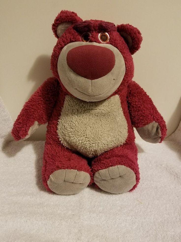 "Disney Parks 15"" LOTSO HUGGIN Bear Plush Toy Story Doll Lots O Hugging  | Toys & Hobbies, TV, Movie & Character Toys, Disney | eBay!"