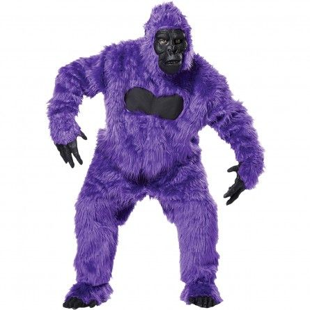 Purple Gorilla Suit Costume